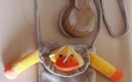 Regalo nacchere con borsa tracolla